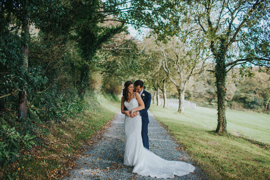 Keep your wedding to you and just your loved ones at Launcells Barton - Private Wedding Venue in Cornwall