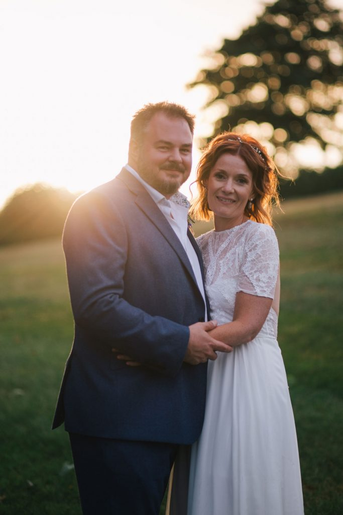 Launcells Barton is a gorgeous rustic wedding venue in Cornwall
