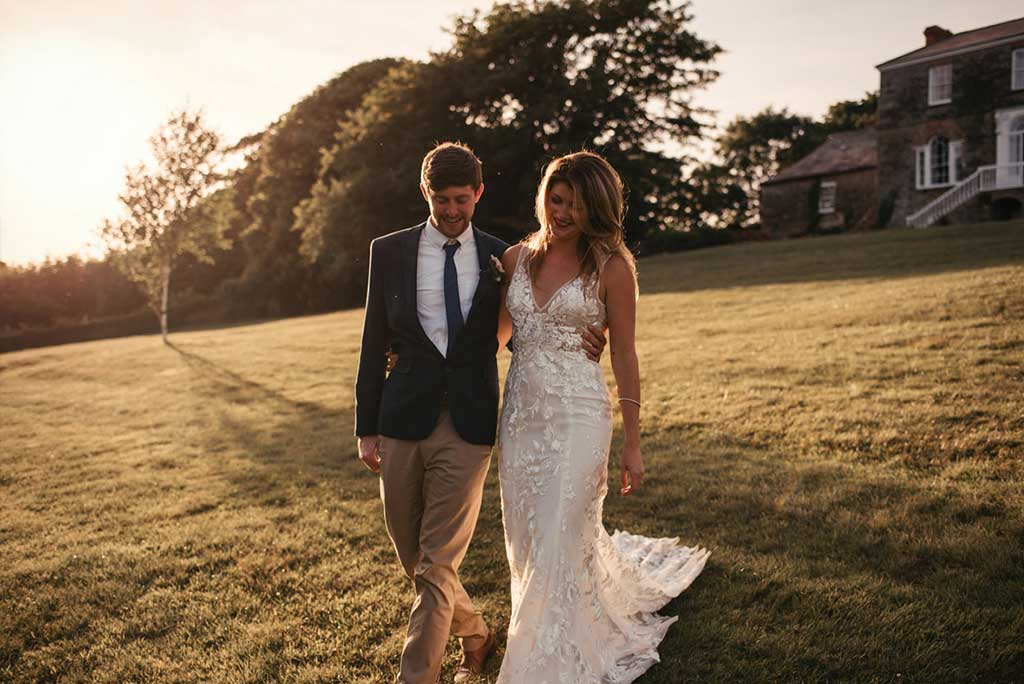 Looking for the best private wedding venue in Cornwall? Look no further than Launcells Barton