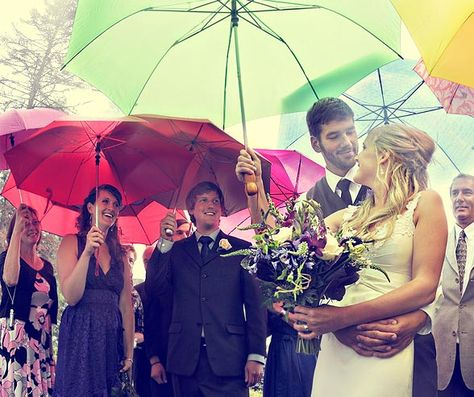 Wedding Venue Cornwall - Umbrellas